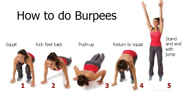 5 reasons to Do Burpees Everyday – WWW.JCMUSCLEBUILDING.COM